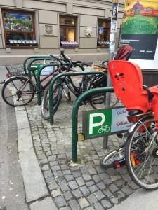 Paremmat pyöräparkit Keravalle vaatii Vasemmistoliitto