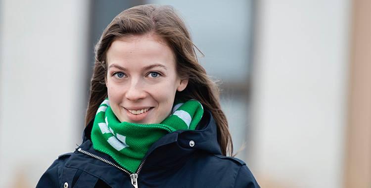 Kansanedustaja Li Andersson Keravalla